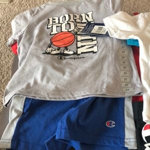 Champion 3 piece size 2 A set of two out fits